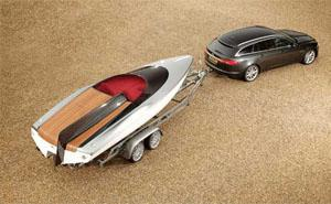 Concept Speedboat by Jaguar with new Jaguar