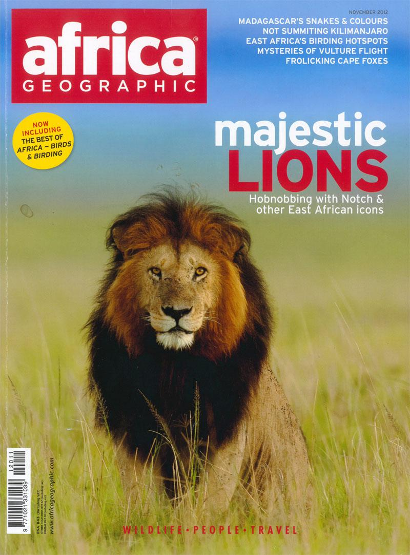 November 2012 Africa Geographic