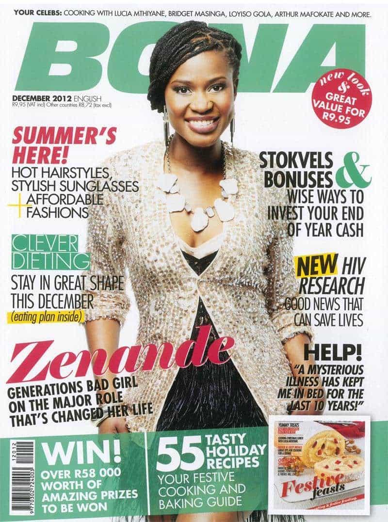 Dewcember 2012Bona Magazine