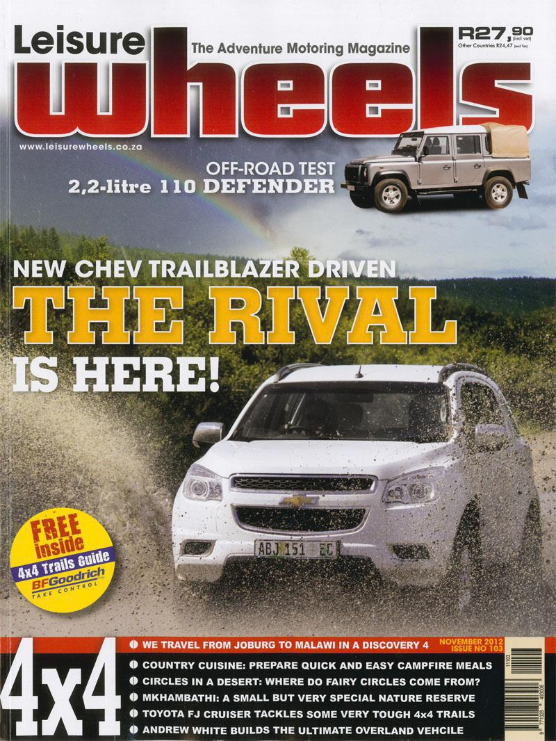 Leisure Wheels Tmb November 2012