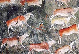 San rock paintings, Drakensberg, KwaZulu-Natal