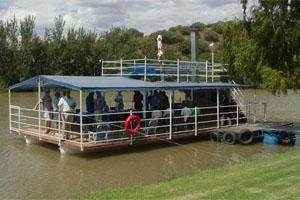 The River Barge at the Maselspoort Resort, Bloemfontein, South Africa