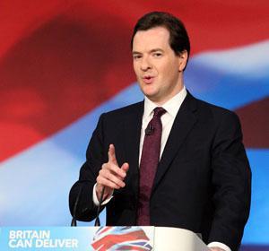 George Osborne UK Treasury levy heavy property taxes
