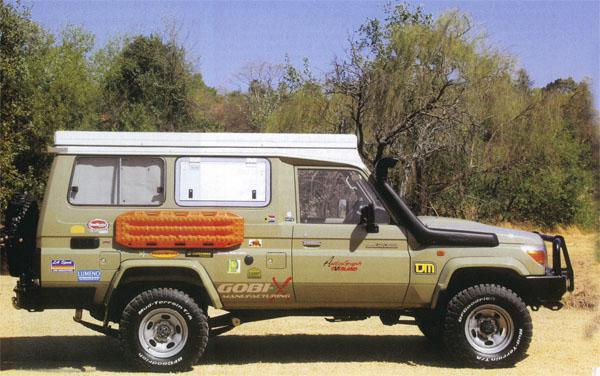 How do you transform a Land Cruiser 78 Troopie into the ultimate overland 4x4? Simple, says Andrew St Pierre White, you chop off its roof and replace it with a tent.