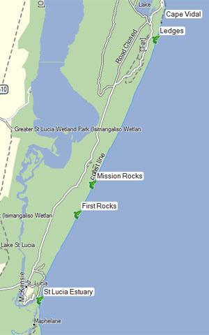 Lake St Lucia fishing spots