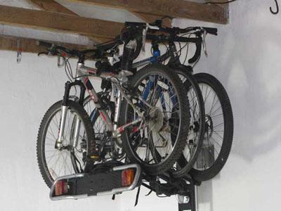 Lift Guy bike storage