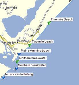 Richards Bay fishing spots