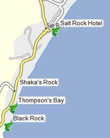 Salt Rock fishing spots