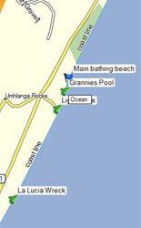Umhlanga fishing spots