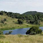 Seven dams conservancy in Bloemfontein - mtb trails, South Africa