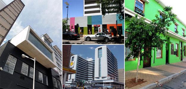 Braamfonteins New Look, renovated buildings