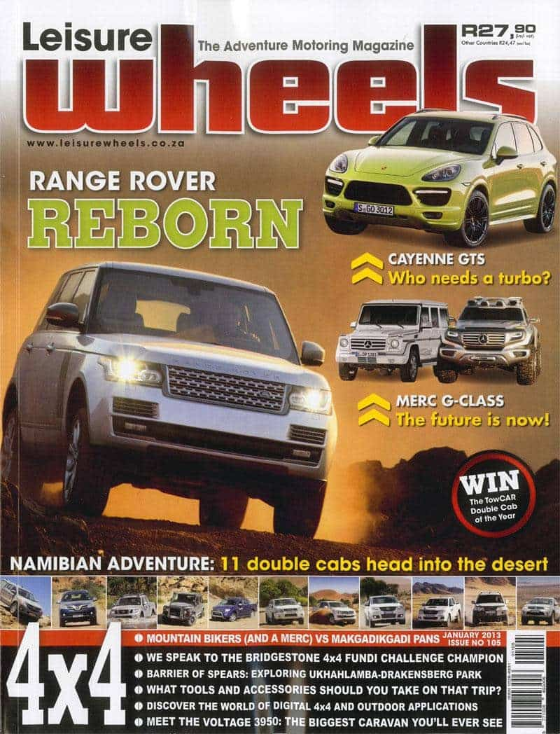 Leisure Wheels Tmb January 2013