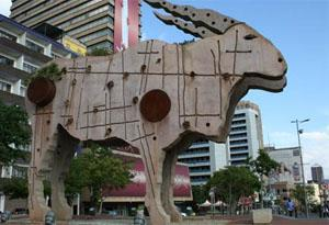 Eland Statue, Braamfontein, Johannesburg