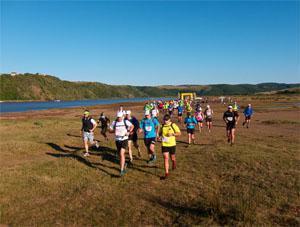 Day 1: Kei River Mouth to Kob Inn / Distance: 44 km / Vertical gain: 285 m