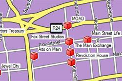 Maboneng Precinct, Johannesburg Map