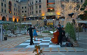Nelson Mandela Square Music Performance