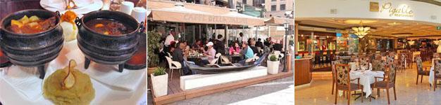 Restaurants, Nelson Mandela Square, Sandton