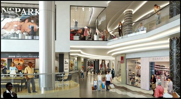 Shopping In Rosebank Johannesburg South Africa