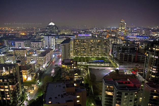 Sandton City at Night