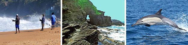 Shaka's Rock, Dolphin Coast, KwaZulu-Natal