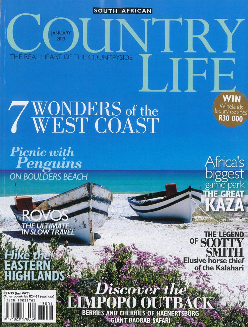 Country life January 2013