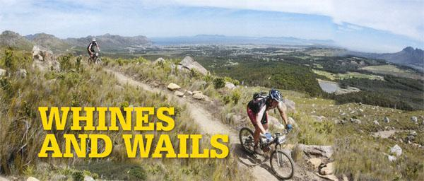 Famed for its singletrack, our first ride in the Wines2Whales did not disappoint.