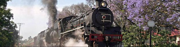 Steam Train to Cullinan from Pretoria
