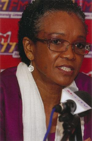 Respected journalist and film-maker Sylvia Vollenhoven