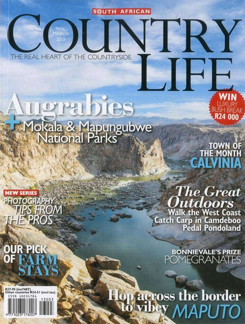 Country life March 2013