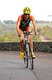 Triathlon  bike ride