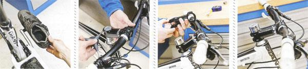 5. Customise cleat angles 6. Choose bar and stem position 7. Set stem lenght 8. Is my bar right