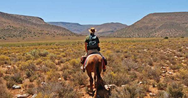 The Planet Trek in Anysberg Nature Reserve is an overnight horse trail to a secluded corner of the Klein Karoo, where dark skies offer magnificent stargazing opportunities.