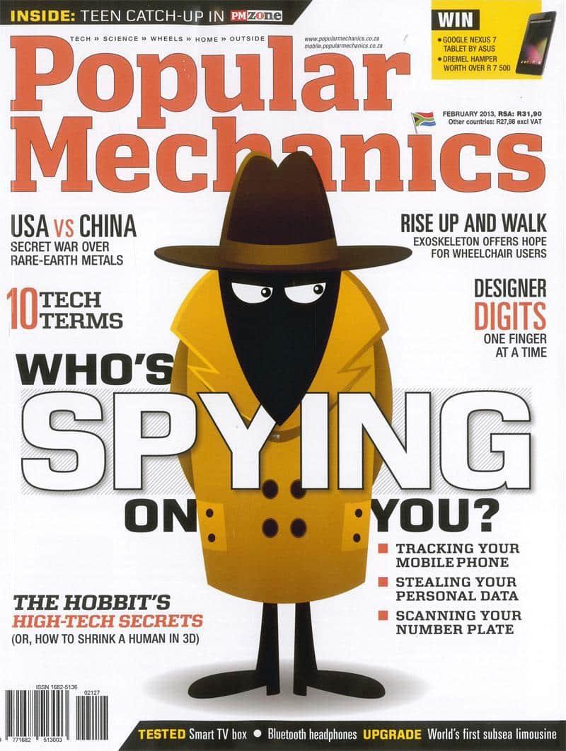 Popular Mechanics February 2013