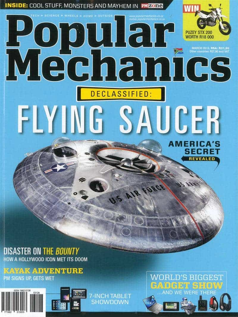 Popular Mechanics March 2013