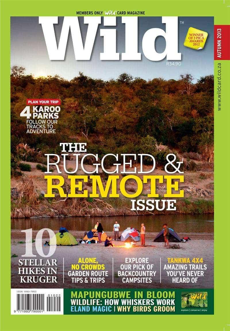 Wild Autumn 2013 Magazine