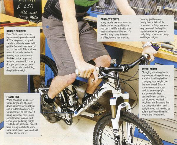 Need to know - Perfect bike fit