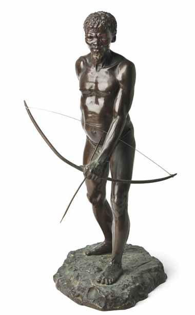 Anton van Wouw's The Bushman Hunter