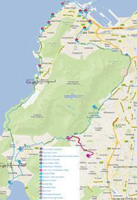Blue Route hop on hop off bus Cape Town