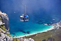 Cableway in Cape Town