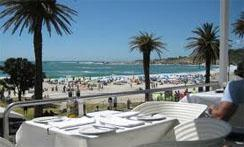 Camps Bay on Atlantic Seaboard in Cape Town