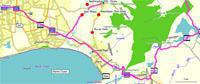 Cape Wineland Route Map