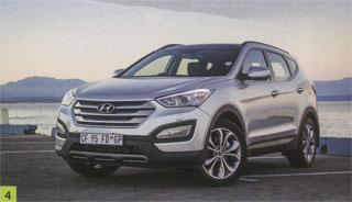 4. Hyundai's all-new Santa Fe made light work of carrying 60 magazines and golf equipment, while being a comfortable ride on the open road.