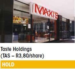 Taste Holdings