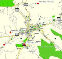 Stellenbosch Wine Route Map icon
