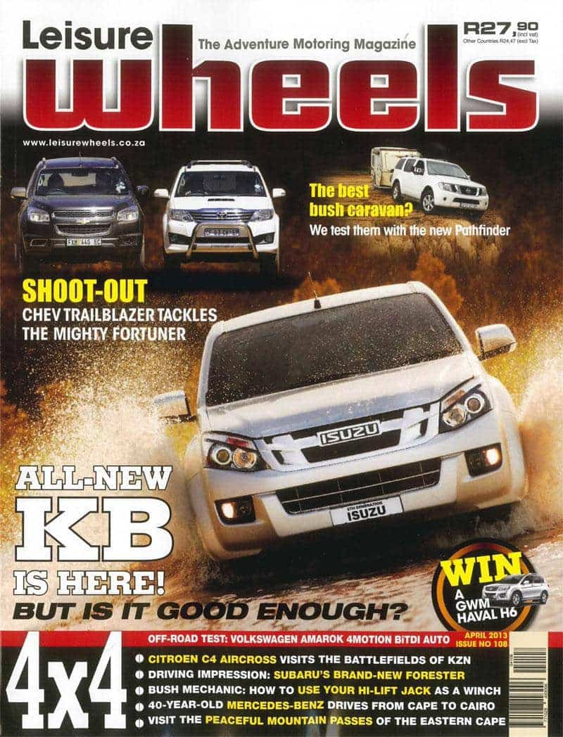 Leisure Wheels Tmb April 2013