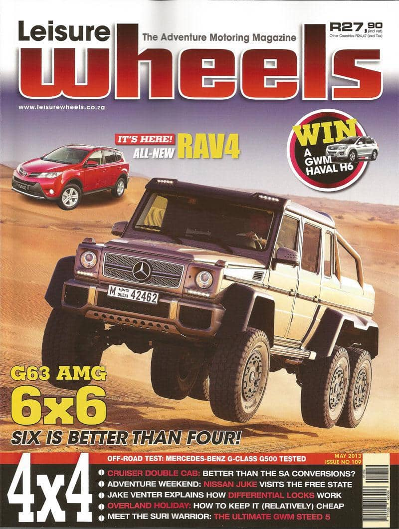 Leisure Wheels Tmb May 2013