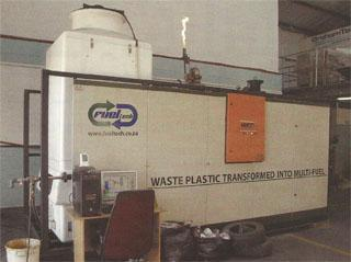 Graham's container- sized pilot plant gives us a practical, financially sound method of dealing with plastic and tyre waste.
