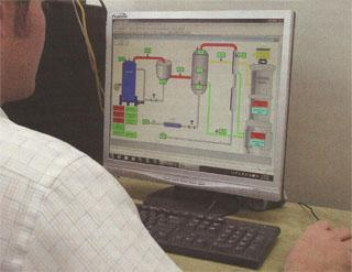 The plant is fully automated and requires only one operator. If need be it can be managed remotely.