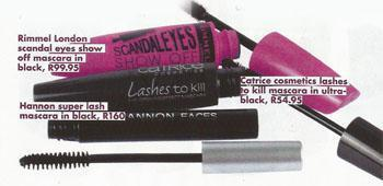 Put your mascara brush on the root of your eyelashes and gently brush out to separate and lengthen your lashes.