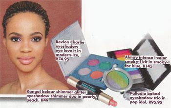 Apply your eyeshadow of choice using a small brush.